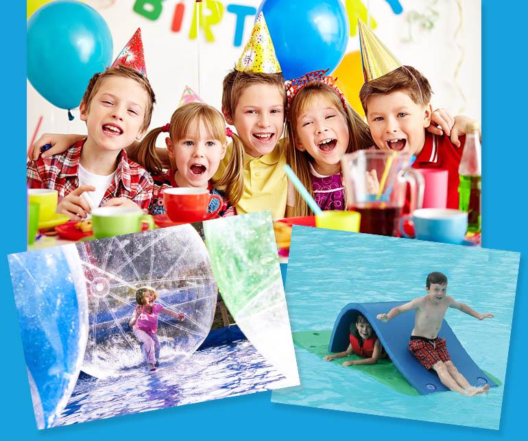 Birthday Swim Pool Parties