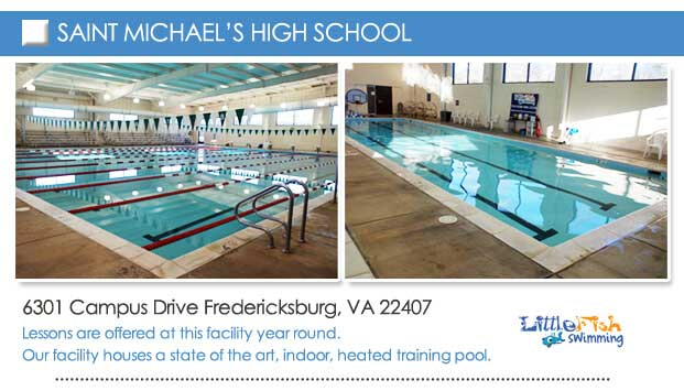 photos of the pool at saint michael's high school